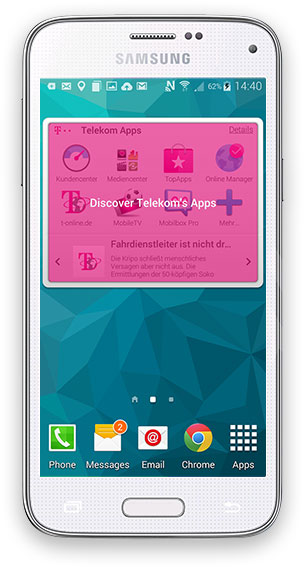 Samsung Galaxy S5 mini (Germany)