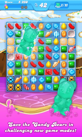 Candy Crush Soda Saga mobile screenshot