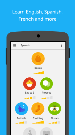 Duolingo mobile screenshot