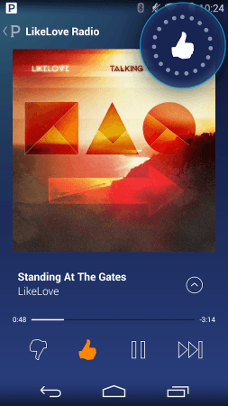 Pandora Radio mobile screenshot