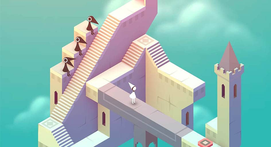 Monument Valley tablet screenshot