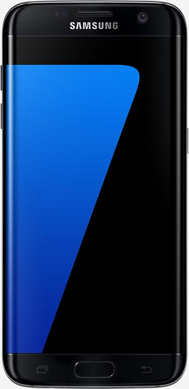 Samsung Galaxy S7 edge front view