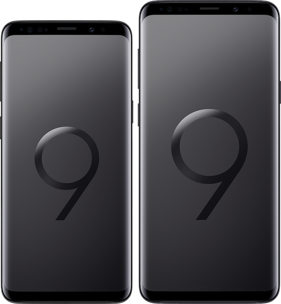 Samung Galaxy S9 and S9+