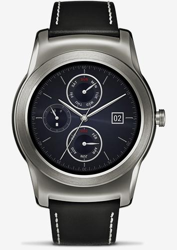 LG Watch Urbane front view
