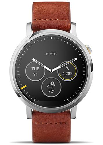 Moto 360 front view