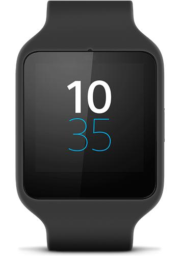 Sony SmartWatch 3 front view