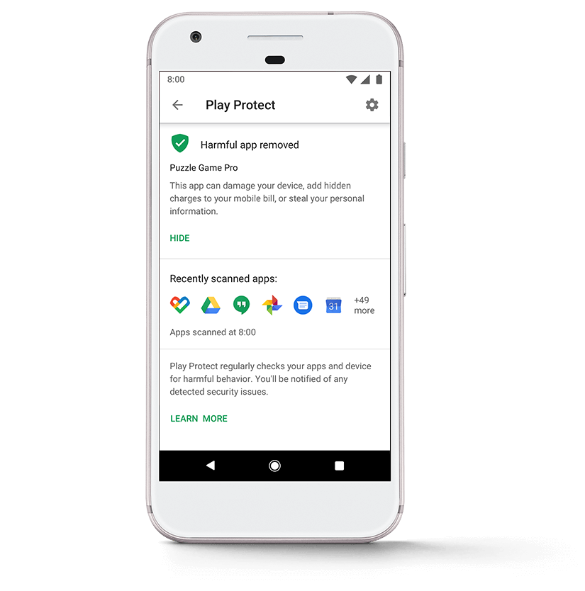 Android – Google Play Protect