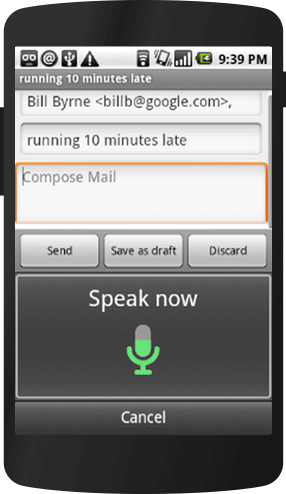 google voice search app for android 2.1